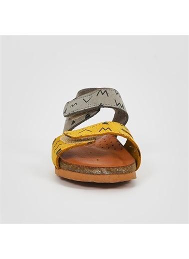 Panço Sandalet 19142085234 Sarı